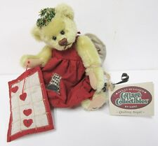 """GANZ Cottage Collectible """"Quilting Angel"""" Brand New PRISTINE Mint Condition RARE"""