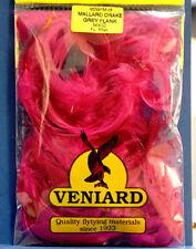 Mallard flankenfedern 2 gramos bolsa fluo Pink