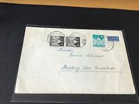 Hamburg 1949 Tax Stamp stamps cover Ref R28757