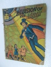 MANDRAKE INVASION OF THE EARTH   NO 334  INDRAJAL COMICS IJC Rare ENGLISH  India