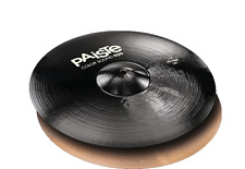 "Paiste Color Sound 900 Black 14"" Hi Hat Cymbals/Brand New"
