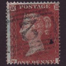 R39 GB QV 1855 1d RED-BROWN (SG21) FU ABERYSTWYTH (2) C4