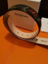 New & Genuine Russell & Bromley Dolce Chelsea 601114 Men Belt - Size 40/100CM