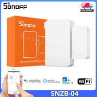 SONOFF SNZB-04 ZigBee Smart Home Wireless Door/Window Sensor Detect Alarms Monit