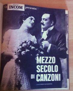 AA.VV. Settimana INCOM Mezzo secolo di Canzoni dal n. 1 al n. 8 1962  L5488