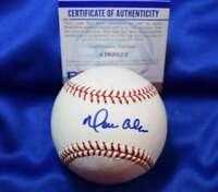 Moises Alou PSA DNA Coa Autograph Major League OML Hand Signed Baseball