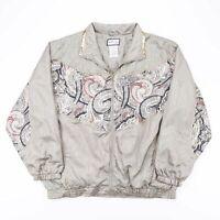 Vintage ACTIVE CLUB  Green 90s Nylon Casual Shell Jacket Womens XL