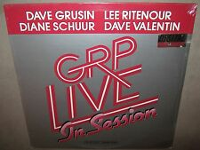 GRP LIVE In Session SEALED LP 1985 A-1023 Dave Grusin Lee Ritenour Diane Schuur