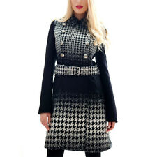 Paragona stile donne cappotto invernale misto Cachemire Nero Prezzo Consigliato £ 168 Taglia 8