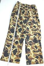 Columbia Camo Hunting Shell Pants  Size XL    Excellent Condition