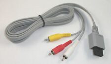 USA SELLER NEW Official Authentic Wii AV Cable TV Cord RVL-009 Composite RCA