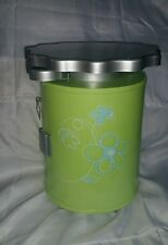 """AMERICAN GIRL GREEN SALON STYLING CADDY STATION for DOLLS 18"""" in GUC FLOWERS"""