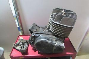 1972 YAMAHA DT2 DT2MX DT250 MX ENGINE BOTTOM END AND TOP END DT1F-185762 MX