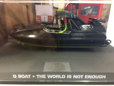 James Bond 007 Q Boat The World is not enough 1:43 Scale New