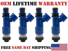 SET/4 OEM DENSO Fuel Injectors for 2006-14 Subaru Impreza Forester Legacy 2.5L