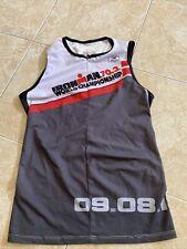 SUGOI IRONMAN Maglia Smanicato Canottiera Triathlon Ciclismo Running TG.M