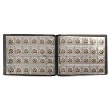 240Pocket Moneda Álbum 10Pages Expositor Colección Almacenamiento Penny Libro