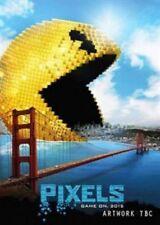 Pixels Gaming Adam Sandler 2015 DVD UK PAL R2