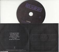 REN HARVIEU Through The Night Sampler UK 6-tk numbered/watermarked promo test CD