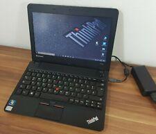 Ultrabook Thinkpad X121E SSD 250GB Samsung Evo 750 AMD E-300 Radeon Win10 uvm.