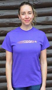 Vintage Purple Starlet Bike T Shirt Retro Antique Schwinn Ladies Cruiser Bicycle