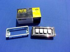 NEW 1969-77 MOPAR Power Window Switch 4-Window Concave Buttons OER Part 2926117