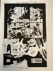 Batman Dark Knight with Catwoman original comic art by Paul Gulacy Palmiotti