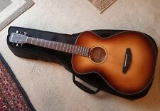 Mint 2021 Breedlove Discovery Concertina parlor guitar w premium padded gig bag.