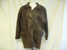 Unbranded Hip Length Leather Coats & Jackets for Men