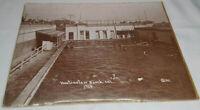 Hot Salt Water Tub Baths Huntington Beach CA Antique Vintage 1914 Photo Poster