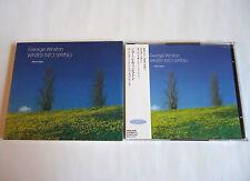 GEORGE WINSTON Winter Into Spring JAPAN L/E CD 1997 FHCH-1009 with Bonus CD