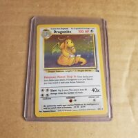 Dragonite 4/62 - Fossil Set - LP - Pokemon - Free Shipping