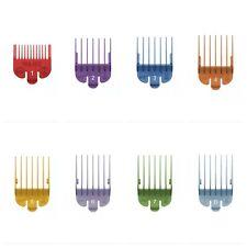 WAHL CLIPPER ATTACHMENTS GRADE 1,2,3,4,5,6,7,8 in colour
