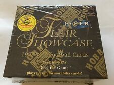 1999 Flair Showcase Football HOBBY BOX (Manning Marino McNabb RC Masterpieces)?