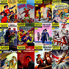 Classics Illustrated & Junior Comics Remastered 246 Issues on 3 Dvds Complete
