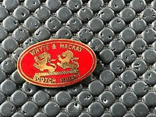 PINS PIN BADGE ALCOOL BAR WHISKY WHISKEY WHITE MACKAY
