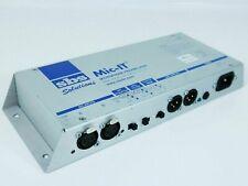 SBS Solutions Mic-IT Dual Microphone Preamplifier Unit 2 Channel