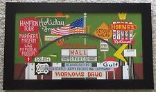 VINTAGE AMERICANA PAINTING RETRO SIGNS POP ART REGIONALISM ABSTRACT MODERNISM