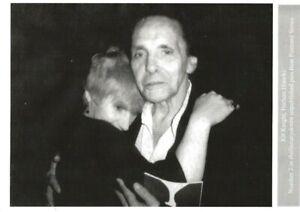HERBERT HUNCKE & KIT KNIGHT NYC SEPT 2 1984 BEAT WRITERS PHOTO POSTCARD #2