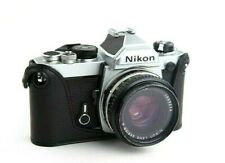 Leather Half Case for Nikon FM2, FM3, FE, FE2 Camera (Smooth Grain) - BRAND NEW