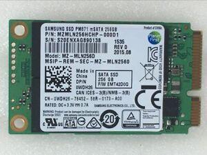 Samsung PM871 PM851 MZ-MLN256D mSATA 256GB SSD For Samsung Dell HP Lenovo Laptop