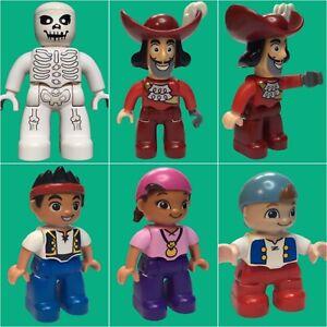 Lego Duplo Pirat Figur10514 Jacke Nimmerland Piraten zum Auswählen    #D4