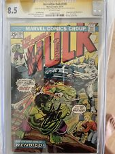 THE INCREDIBLE HULK #180 First Wolverine! CGC SS 8.5 Signed: Lee, Wein, Trimpe!