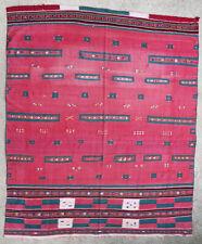 Textile weave antique oriental tribal Berber Moroccan Algerian M'Zab Mzab 1900
