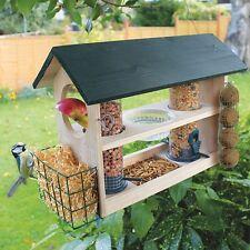 Bird Feeding Variety Station (For Seeds, Peanuts, Mealworm, Suet, Bread & Fruit)