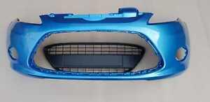 (Vision Blue) Fiesta 2008>2012 Zetec Titanium Front Bumper & Grille (JS)