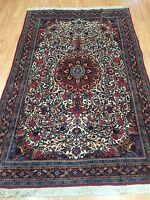 "4'8"" x 7'2"" New Kurdish Oriental Rug - Fine - Hand Made - 100% Wool"
