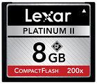 Lexar Platinum II 200X 4GB 8GB 16GB CF CompactFlash Memory Card For DSLR Camera