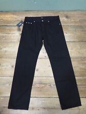Mens Negro De Hugo Boss Jeans de pierna recta-UK Size W36 L32 BNWT