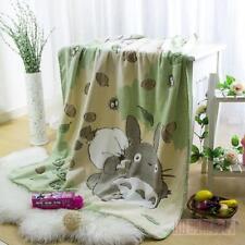 Cartoon Totoro Soft Warm Blanket Flannel Throw Bedding Sheet Car Rug Home Decor